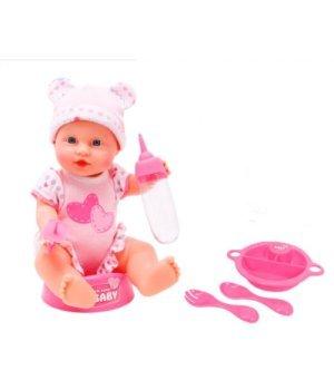 Кукла-пупс Симба Уход за малышом, 30 см, New Born Baby