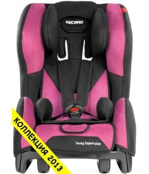 Автокресло RECARO Young Expert plus Pink