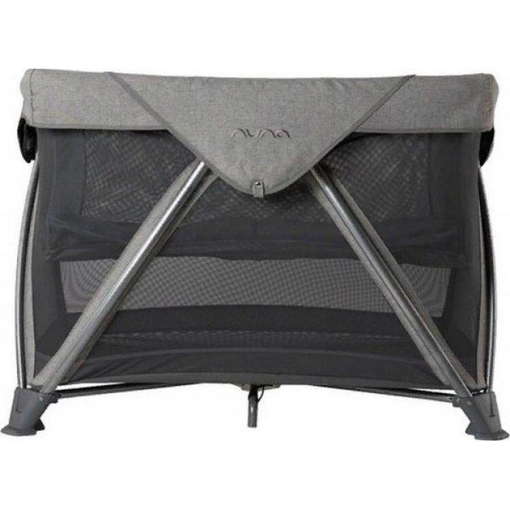 Манеж кроватка Nuna Sena Air Threaded Темно-серый
